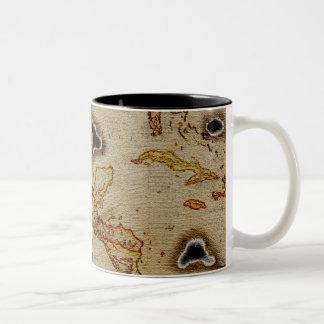 EpicTreasureの地図#1 ツートーンマグカップ