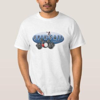 Epikの失敗のロゴ(Facepalm) Tシャツ