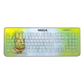EPIZELLEの外国の習慣の無線キーボード1 ワイヤレスキーボード