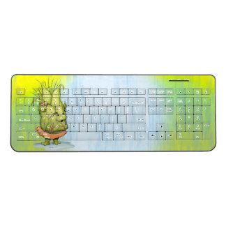 EPIZELLEの外国の習慣の無線キーボード2 ワイヤレスキーボード