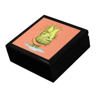 EPIZELLEの大きい正方形のタイルのギフト用の箱の金ゴールドモンスター ギフトボックス