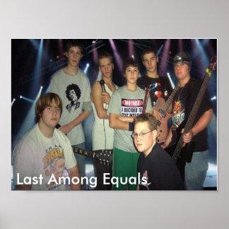 EQULESの同輩間の最後間で最後 ポスター