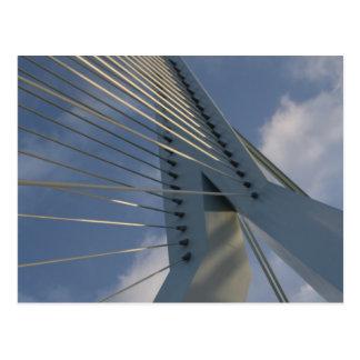 Erasmus橋、ロッテルダム ポストカード