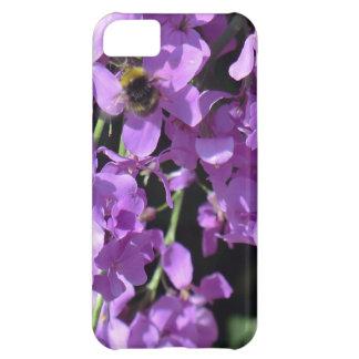 Erddigホールの夏の薄紫の蜂 iPhone5Cケース
