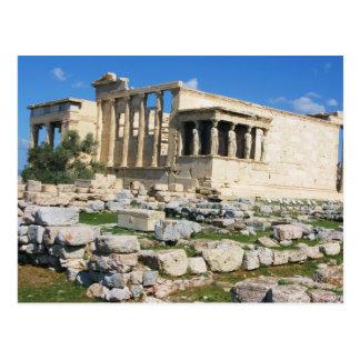 Erechtheumのアクロポリス-ギリシャ ポストカード