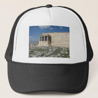 Erecthionは古代ギリシャ人のアクロポリスの部分です キャップ