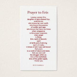 Erisの祈りの言葉カード 名刺