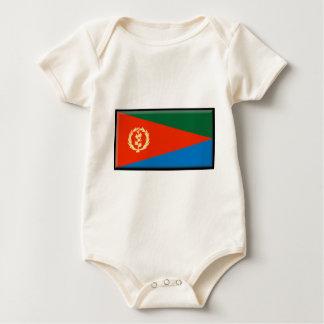 Eritriaの旗 ベビーボディスーツ
