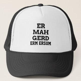 Ermahgerdの帽子 キャップ
