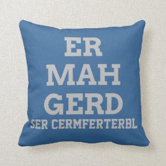 Ermahgerdの灰色の枕 クッション