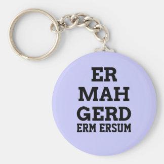 Ermahgerd Keychain キーホルダー