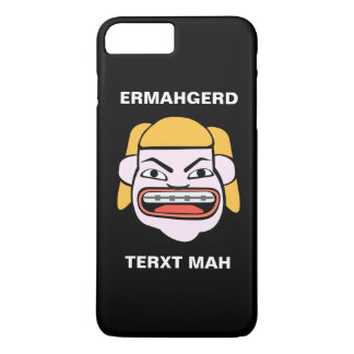 Ermahgerd Terxt Mah iPhone 8 Plus/7 Plusケース