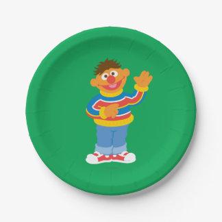 Ernieのグラフィック ペーパープレート