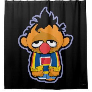 Ernieのゾンビ シャワーカーテン