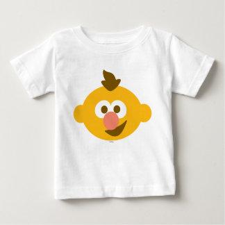 Ernieのベビーの顔 ベビーTシャツ