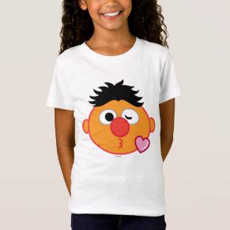 Ernieはキスの投げに直面します Tシャツ