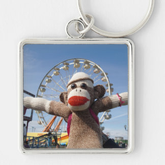 Ernieソックス猿の観覧車Keychain キーホルダー