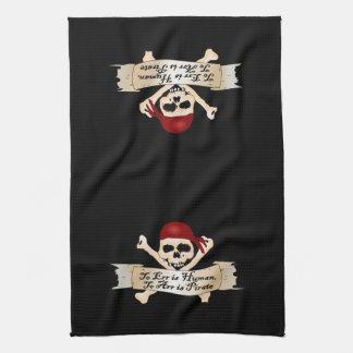errにArrに人間、あります海賊はです キッチンタオル