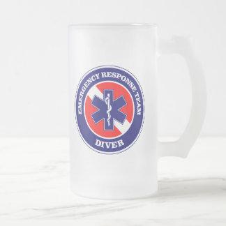 ERTのダイバー フロストグラスビールジョッキ