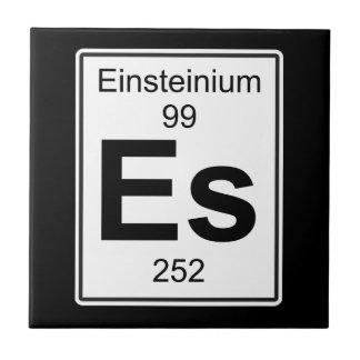 ES -アインスタイニウム タイル