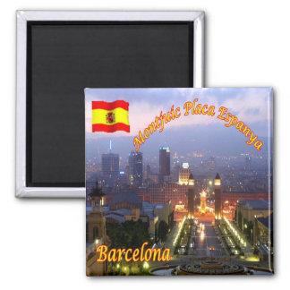 ES -スペイン-バルセロナ- Catalunyaの議会 マグネット
