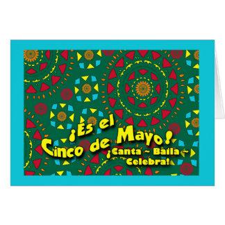 ES el Cinco deメーヨー! Canta、Baila、Celebra カード