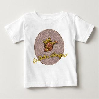 ES Todosの友達! ベビーTシャツ