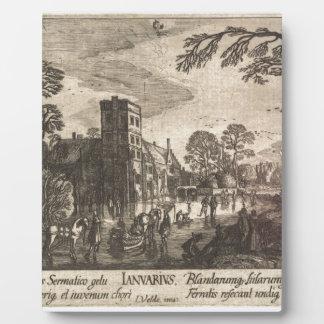 Esaias van de Velde著1月 フォトプラーク