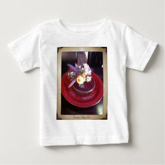 Esalen、大きいSurのフラワーアレンジメント ベビーTシャツ