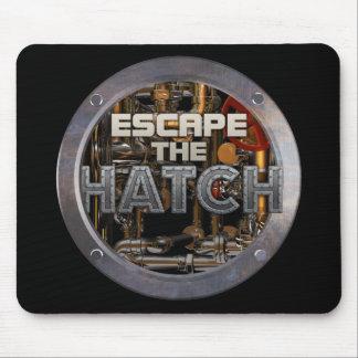 Escape The Hatch Mousepad