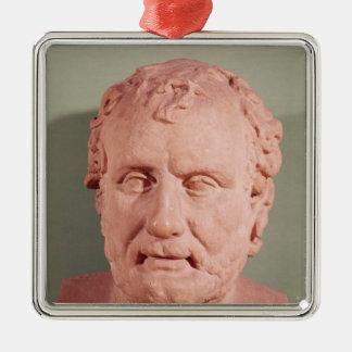 Eschinus、紀元前のc.480-476のバスト メタルオーナメント