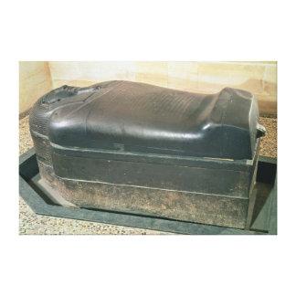 Eshmunazar Sidonの王の、石棺 キャンバスプリント