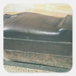Eshmunazar Sidonの王の、石棺 スクエアシール