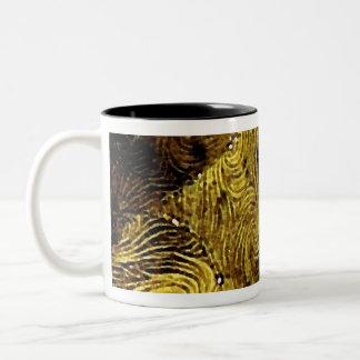 Esmeraldaの織物のマグ ツートーンマグカップ