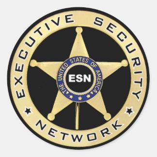 ESNのステッカー ラウンドシール