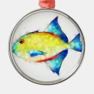 Esperimentoza -豪華な魚 メタルオーナメント