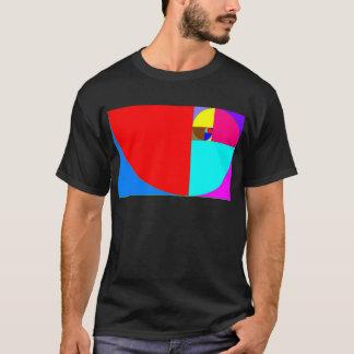 espiralフィボナッチ tシャツ