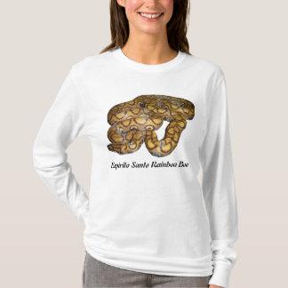Espirito Santo Rainboaのボアの女性長袖 Tシャツ