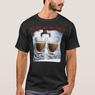 espresso1、絶対必要に…… 1つが…多く…エスプレッソあります tシャツ