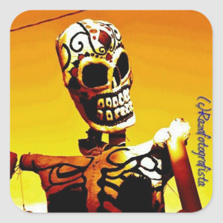 Esqueletoの詐欺Fuego スクエアシール