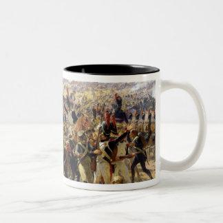 Esslingの戦い、1809年5月 ツートーンマグカップ