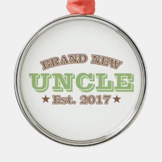 Est真新しい叔父さん。 2017年(緑) メタルオーナメント