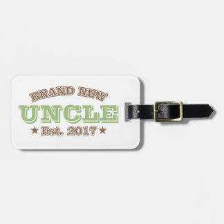 Est真新しい叔父さん。 2017年(緑) ラゲッジタグ