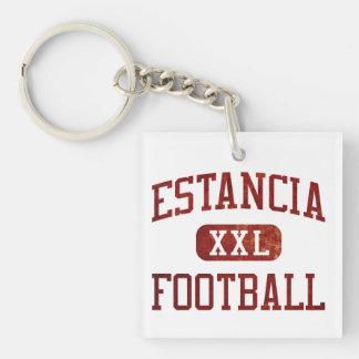 Estanciaイーグルスのフットボール キーホルダー