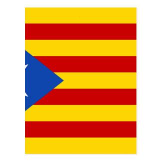 Esteladaのbanderaのindependentista de Catalunya はがき