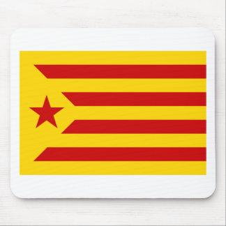 Esteladaのbanderaのindependentista de Catalunya マウスパッド