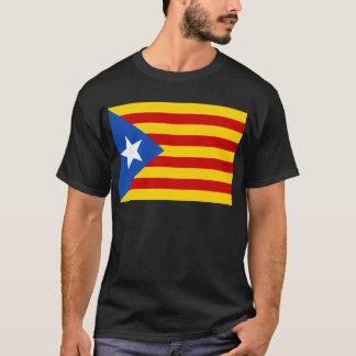 Esteladaのbanderaのindependentista de Catalunya Tシャツ