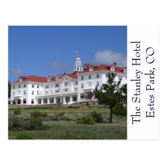 Estes公園のコロラド州スタンリーのホテルの郵便はがき ポストカード