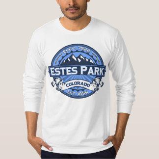 Estes公園のロゴの青 Tシャツ