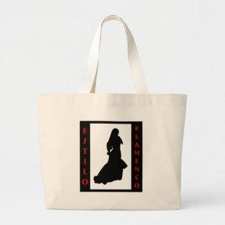 Estiloのフラメンコ ラージトートバッグ